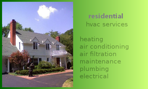 residential service HVAC messages on-hold