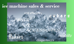 ice machine sales service hold messages